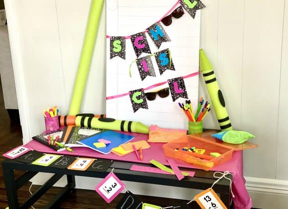 The Coolest Back to School Party the Kids Will Love