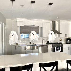Spooky Ghosts For Your Kitchen (So Cheap & Easy!)