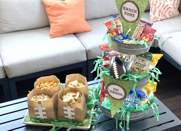 3 Fast & Easy Game Day Snack Trays